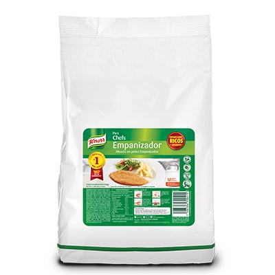 Knorr® Empanizador 5 Kg - Knorr Empanizador  de 5kg, ofrece el mejor sabor, color y textura para tus platillos empanizados