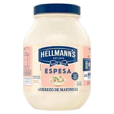 Hellmann's® Mayonesa Espesa 3.8 L -