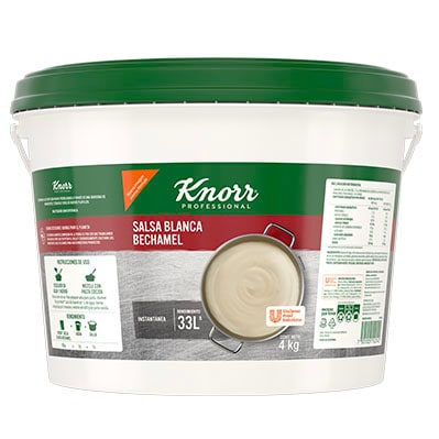 Knorr® Professional Salsa Blanca Bechamel 4 Kg