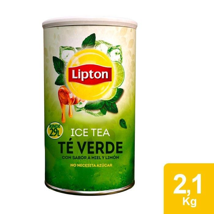Lipton® Ice Tea Té Verde Bote de 2.1 Kg -